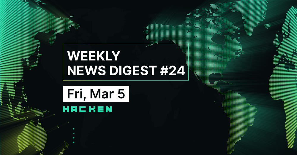 Weekly News Digest #24