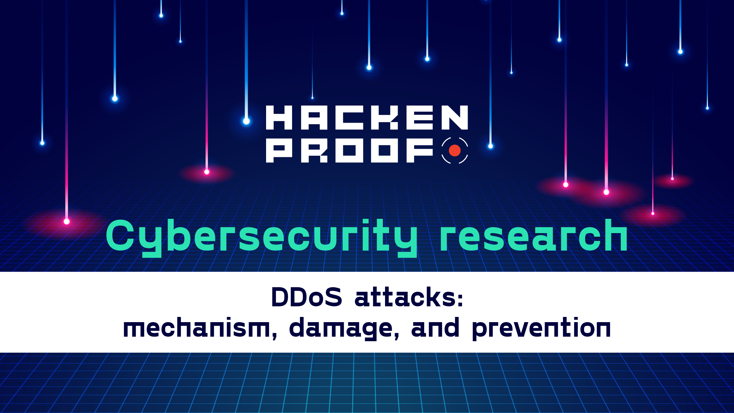 DDoS attacks: mechanism, damage, and prevention
